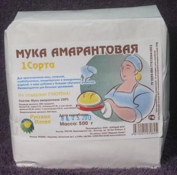 Мука Амарантовая (500г)