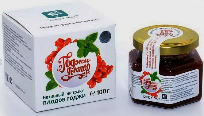Годжидоктор экстракт из плодов годжи
